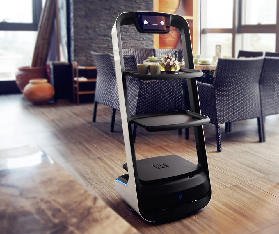 Indoor delivery robot PuduBot in Australia